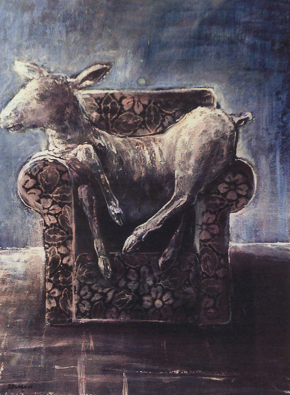 Seated Sheep