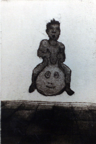 Space Hopper, Etching