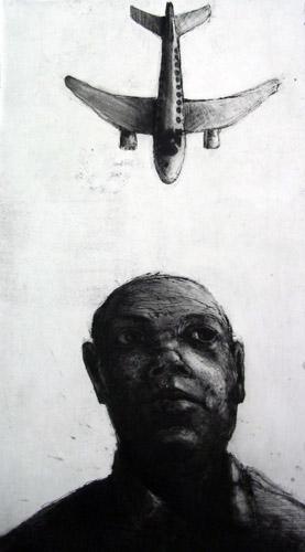 Aeroplane, Etching