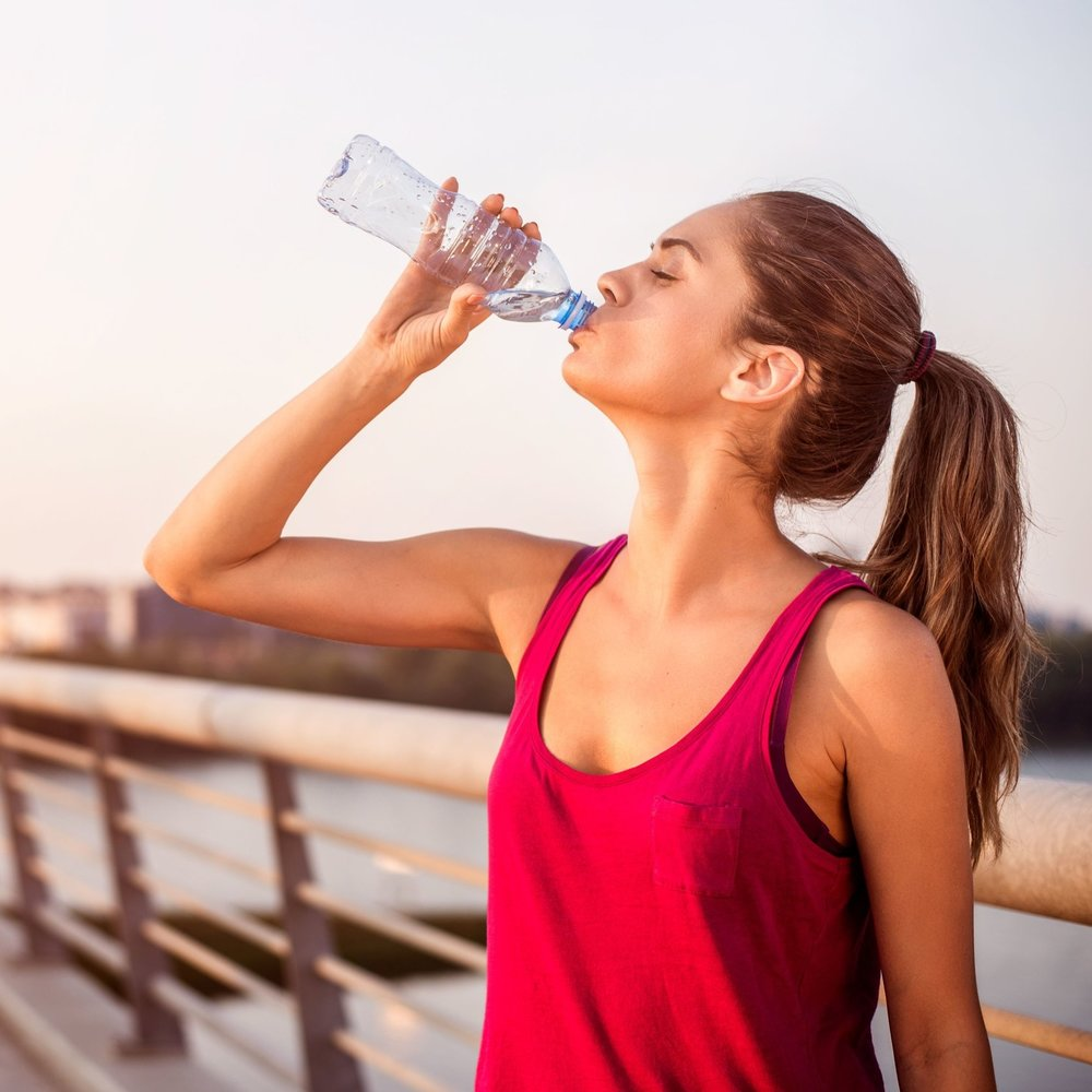 Hydration is one of the cornerstones of good tissue health, which will help your recovery from injury.