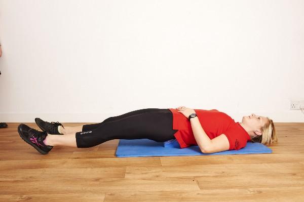 Sarah Key's back block exercise