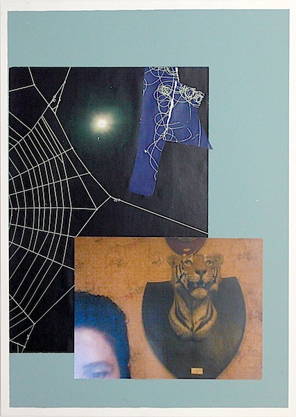 """""""Tall Story #2""""  Collage  22 x 16in."""