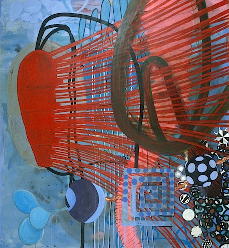 Spread   72 x 56 inches  acrylic on canvas