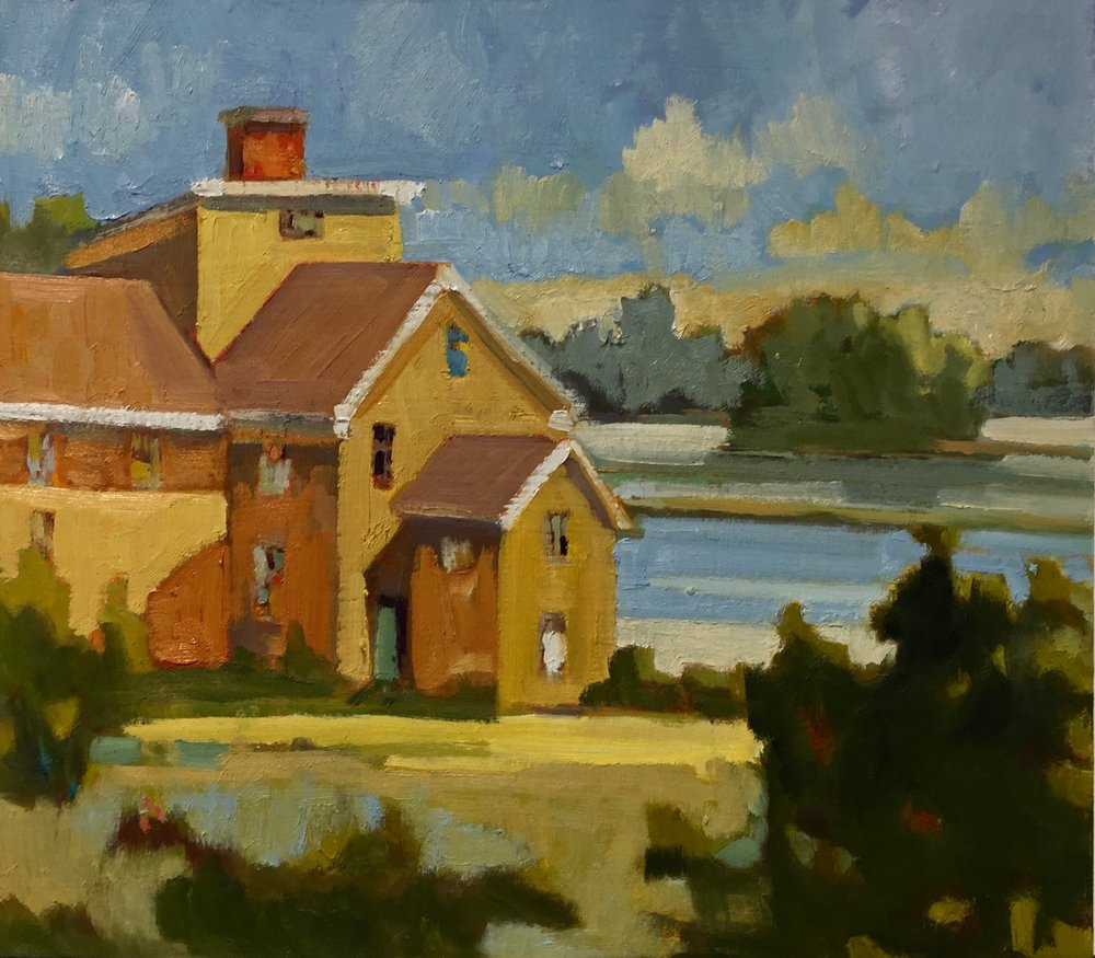 Wentworth Coolidge, oils, 12 x 12