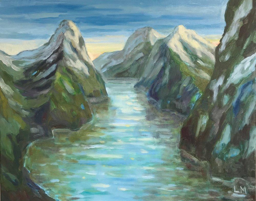 NZ fjord