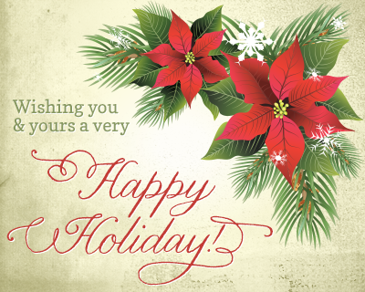 FROM OUR TEAM AND MEMBERS AT HCI CHICAGO - HAPPY HOLIDAYS