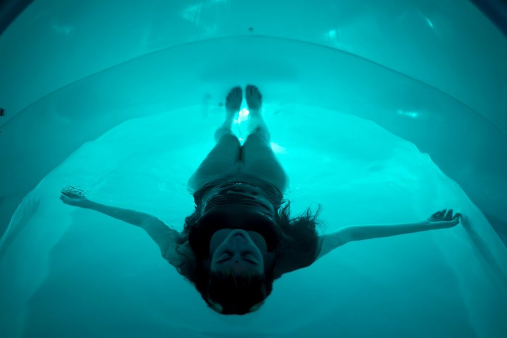 Floating .... Simply relaxing