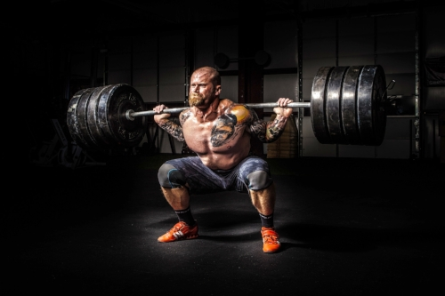 It took this guy a LONG time to lift this amount of weight and have his squat looking like this.   He would have accumulated hundreds, if not thousands of reps!