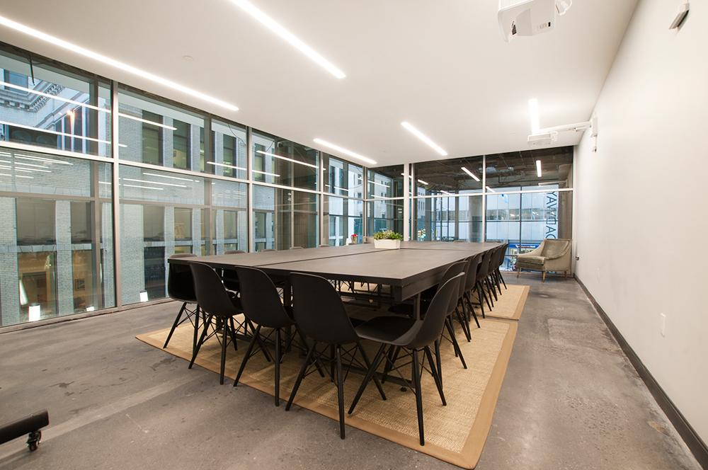 The Mezzanine | Conference Room Offering — The Mezzanine