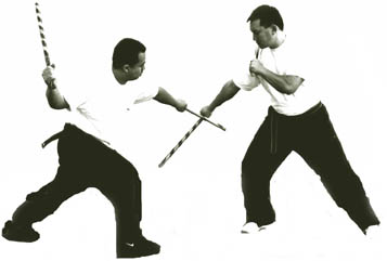 Modern arnis single sinawali