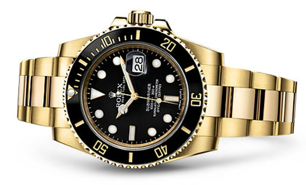 Rolex Submariner 18K Yellow 116618  Retail: $34,250 Our Price: $30,150   Call for additional savings: 215-922-4367