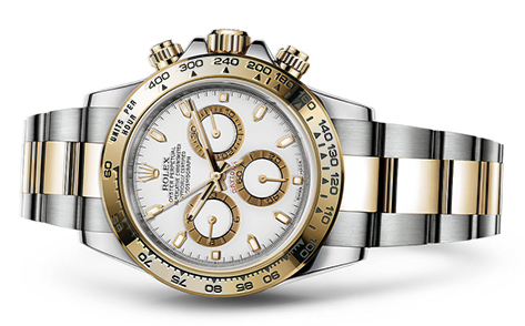 Rolex Daytona Steel & 18K Yellow 116523  Retail Price: $16,900  Our Price: $15,200   Call for additional savings: 215-922-4367