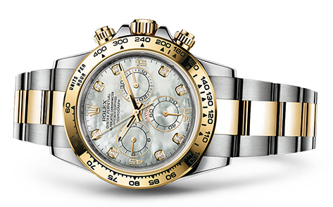 Rolex Daytona Steel & 18K Yellow 116523  Retail Price: $21,600 Our Price: $19,400   Call for additional savings: 215-922-4367
