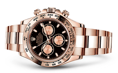Rolex Daytona 18K Rose 116505  Retail Price: $37,450 Our Price: $34,000   Call for additional savings: 215-922-4367