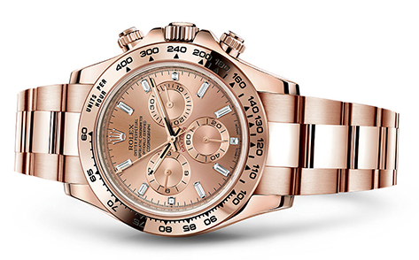 Rolex Dayton 18K Rose 116505  Retail Price: $43,700 Our Price: $37,950   Call for additional savings: 215-922-4367