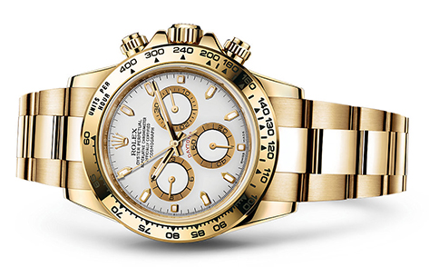 Rolex Daytona 18K Yellow 116528  Retail Price: $34,650  Our Price: $29,450   Call for additional savings: 215-922-4367