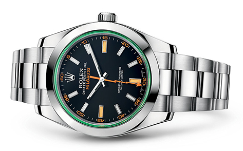 Rolex Milgauss 40mm Anniversary 116400GV  Retail price: $8,200 Our Price: $7,295   Call for additional savings: 215-922-4367