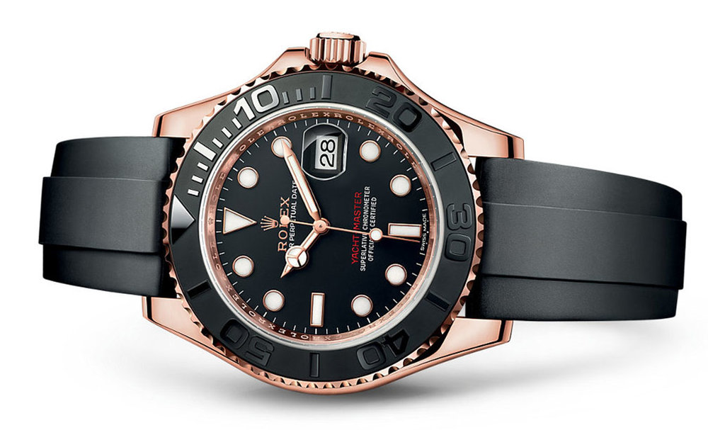 Rolex Yacht-Master 18K Rose 40mm 116655  Retail Price: $24,950  Our Price: $21,995   Call for additional savings: 215-922-4367