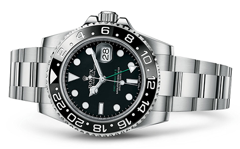 Rolex GMT 40mm Stainless Steel 116710  Retail Price: $ 8,450  Out Price: $7,995   Call for additional savings: 215-922-4367