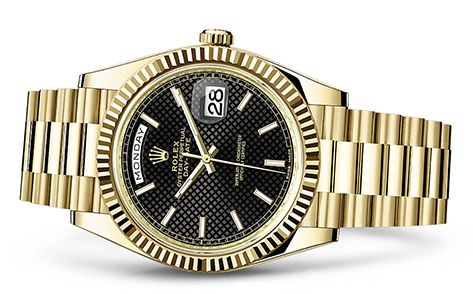 Rolex Day-Date 40mm 18K Yellow 228238  Retail Price: $34,850Our Price: $27,180   all for additional savings: 215-922-4367