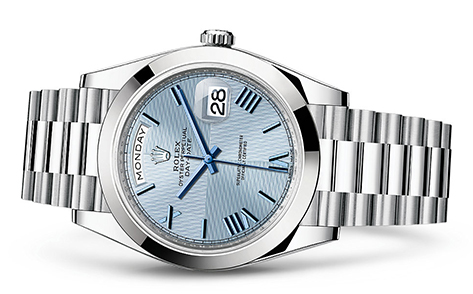 Rolex Day-Date 40mm Platinum 228206  Retail Price: $62,500  Our Price: $48,750   all for additional savings: 215-922-4367
