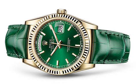 Rolex Day-Date 36mm Strap 118138  Retail Price: $22,150  Our Price: $18,950   Call for additional savings: 215-922-4367