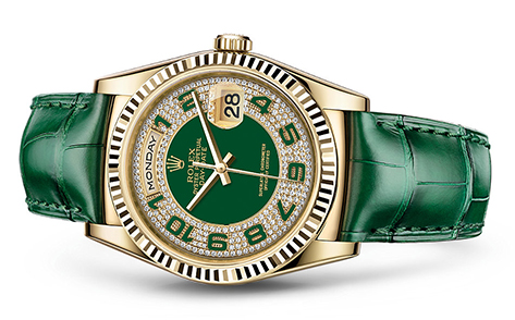 Rolex Day-Date 36mm Strap 118138  Retail Price: $36,300  Our Price: $30,855   Call for additional savings: 215-922-4367