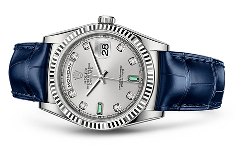 Rolex Day-Date 36mm Strap 118139  Retail Price: $26,300  Our Price: $22,550   Call for additional savings: 215-922-4367
