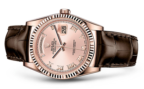 Rolex Day-Date 36mm Strap 118135  Retail Price: $23,550  Our Price: $19,250   Call for additional savings: 215-922-4367