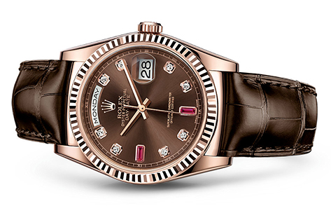 Rolex Day-Date 36mm Strap 118135  Retail Price: $26,550  Our Price: $21,995   Call for additional savings: 215-922-4367