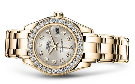 Rolex Pearlmaster 29mm 18K Yellow 80298  Retail Price: $45,450  Our Price: $39,995   Call for additional savings: 215-922-4367