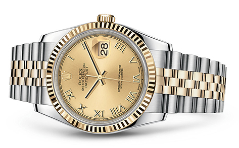 Rolex Datejust 36mm Stainless & 18KY 116233  Retail Price: $10,900Our Price: $9,950   Call for additional savings: 215-922-4367