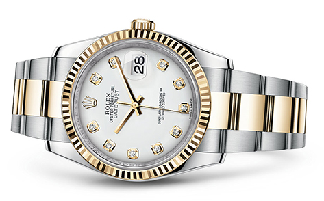 Rolex Datejust 36mm Stainless & 18KY 116233  Retail Price: $12,250  Our Price: $10,595   Call for additional savings: 215-922-4367