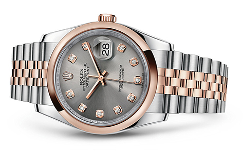 Rolex Datejust 36mm Stainless & 18KR 116201  Retail Price: $13,050  Our Price: $11,850   Call for additional savings: 215-922-4367