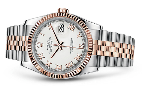 Rolex Datejust 36mm Stainless & 18KR 116231  Retail Price: $11,200  Our Price: $9,950   Call for additional savings: 215-922-4367