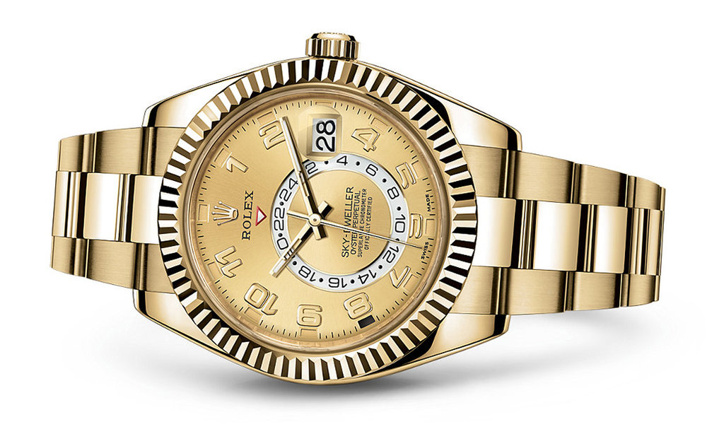 Rolex Skydweller 42mm 18K Yellow 326938  Retail Price: $46,150  Our Price: $ 36,995   Call for additional savings: 215-922-4367