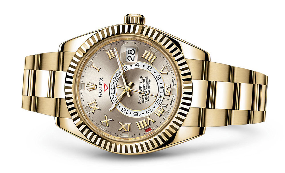 Rolex Skydweller 42mm 18K Yellow 326938  Retail Price: $46,150  Our Price: $36,995   Call for additional savings: 215-922-4367