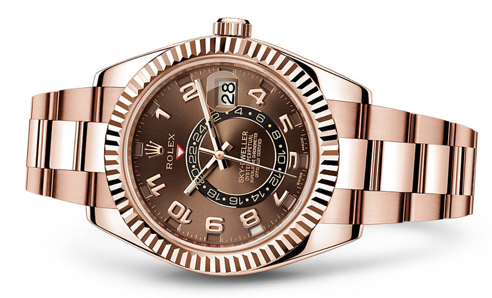 Rolex Skydweller 42mm 18K Rose 326935  Retail Price: $48,850  Our Price: $39,080   Call for additional savings: 215-922-4367