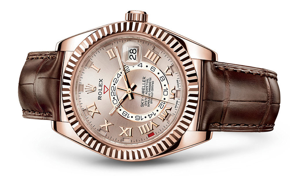 Rolex Skydweller 42mm 18K Rose 326135  Retail Price: $39,550  Our Price: $31,640   Call for additional savings: 215-922-4367