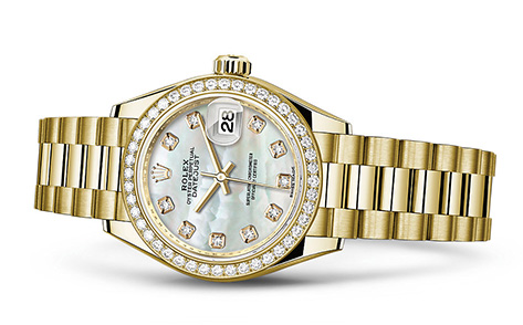 Click for Rolex 28mm Ladies President Collection