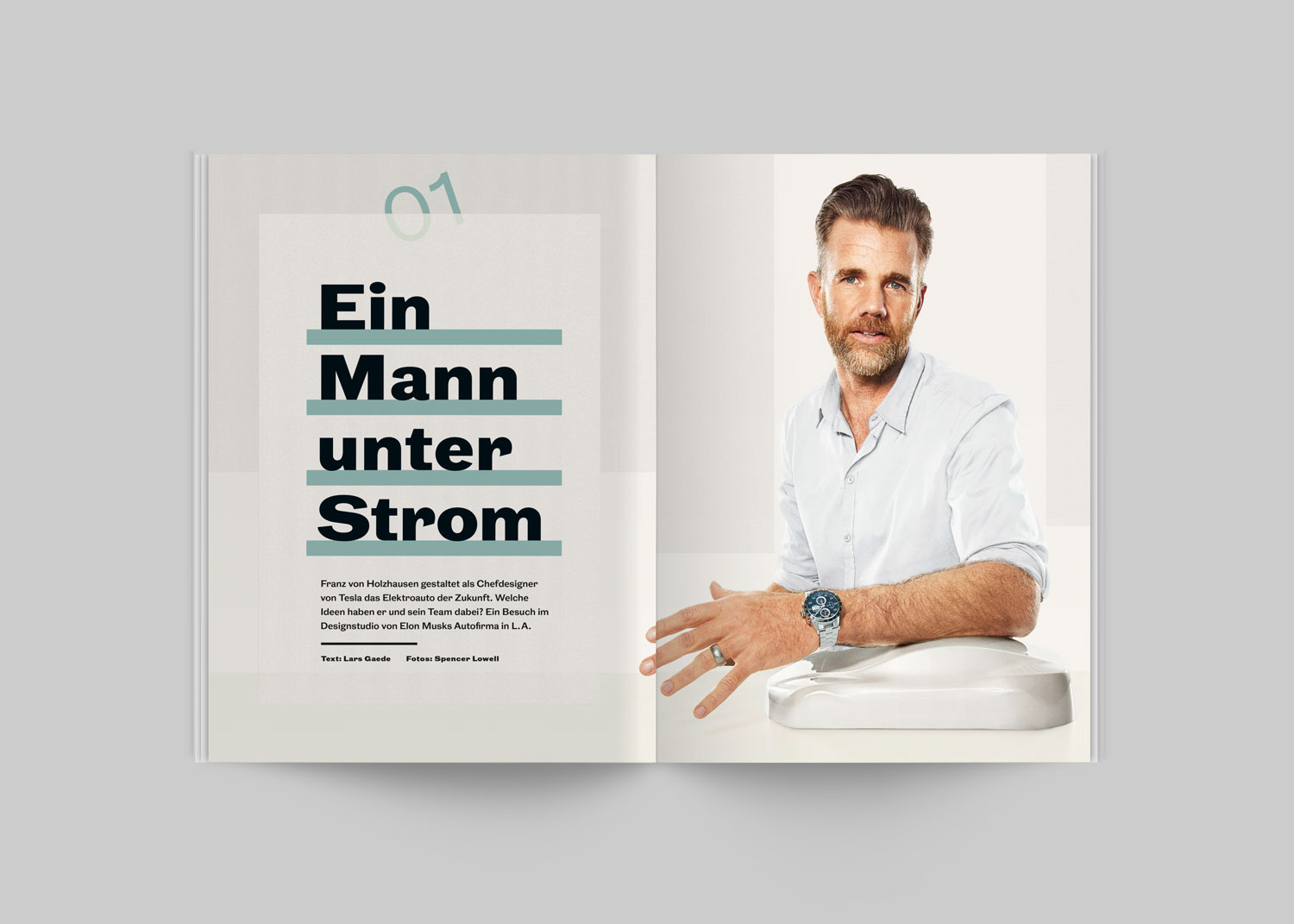 Benjamin Pollach – Art Direction — Wired Germany — Online Redesign