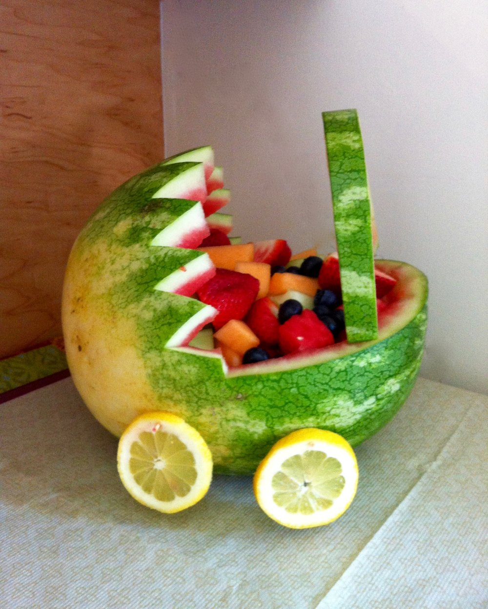 Fruit Bowl Baby Carriage — Oui Oui Bebe | Mommy Blogger