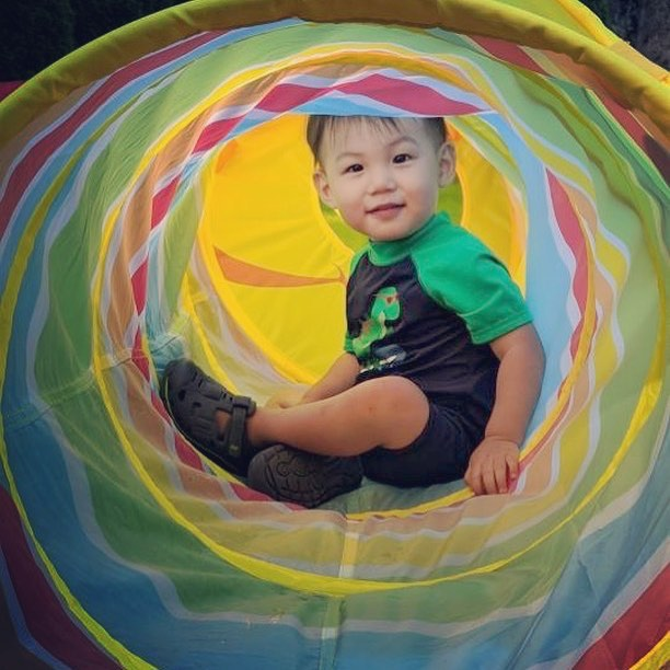I only got tunnel vision for this cutie! . . . . . #ouiouibebe #babyboy #summerfun #playtime #summer #fun #mommyblogger #momblogger #funinthesun #mommyandme #babyblog #bigboy #toddler #momofboys