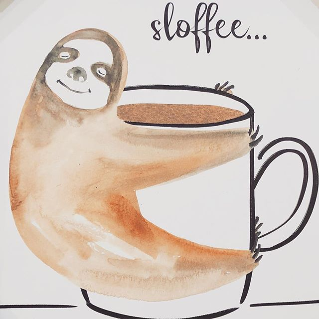 Current mood. ☕️ . . . . . #ouiouibebe #sloffee #sloth #coffee #homesense #greatfinds #homedecor #home #lifestyle #momblogger #momlife #mommyblogger