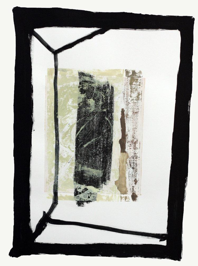Engine #2    oil, pen and graphite on paper / 60cm x 42cm