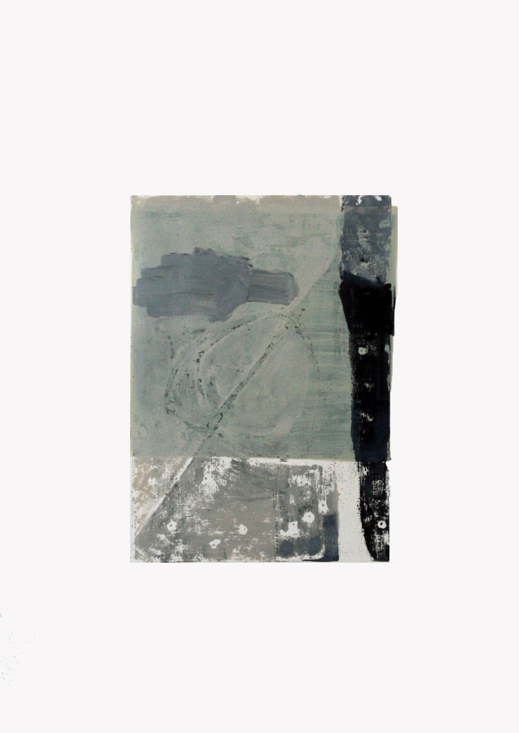 Engine #4   oil, pen and graphite on paper / 60cm x 42cm
