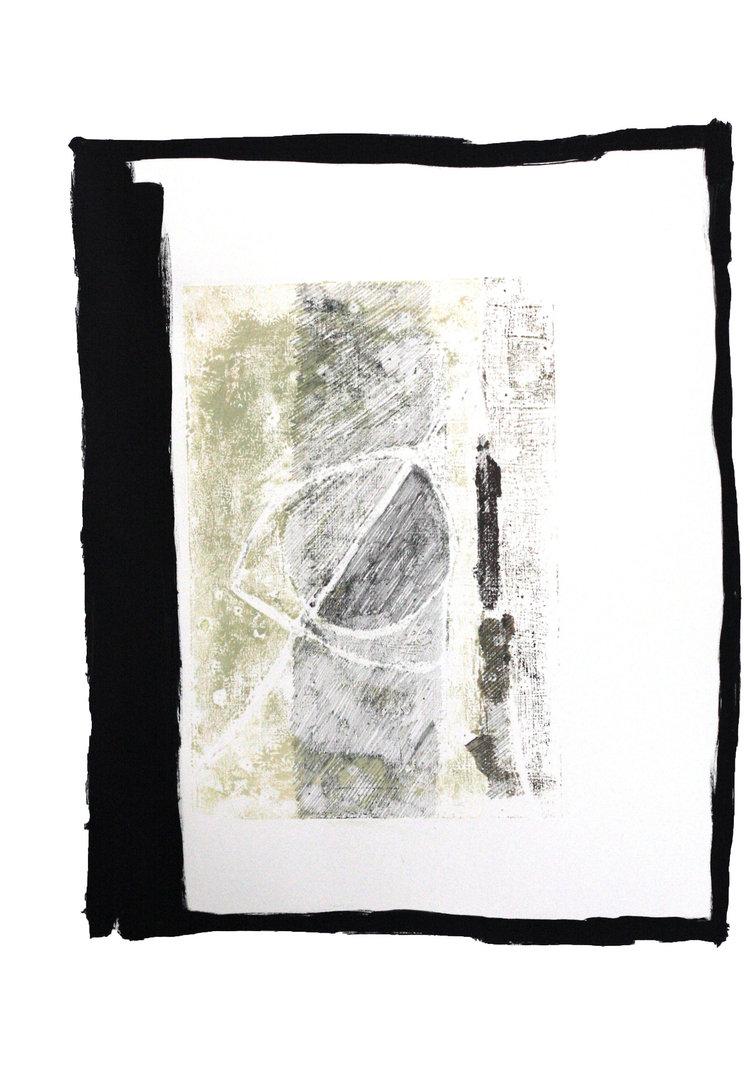 Engine #5   oil, pen and graphite on paper / 60cm x 42cm