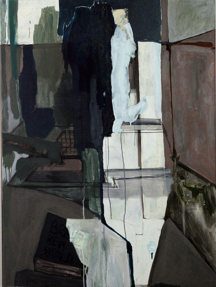 Brave New World   oil on canvas / 100cm x 60 cm