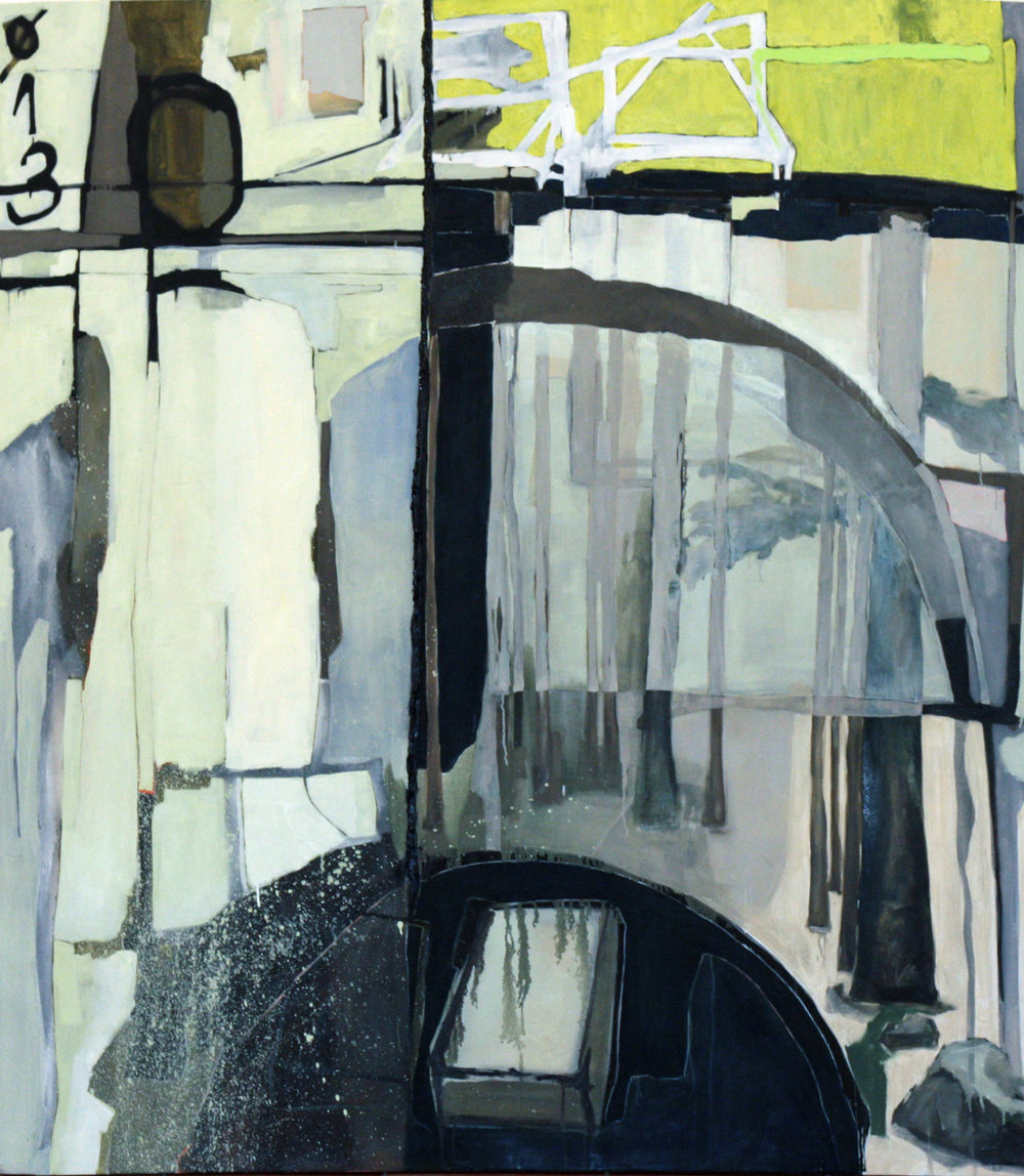 310 Worlds   oil on canvas /150cm x 165cm