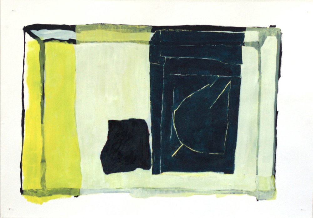untitled   oil on paper / 70cm x 100cm